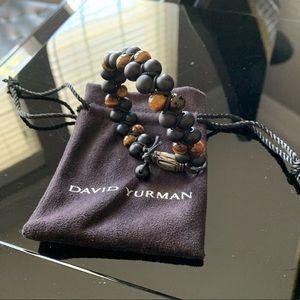 David Yurman Bracelet with Black Onyx / Tiger Eye
